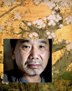 Fotomontaje Fotografía de Per Folkver en Politiken.dk. Cerezos en flor de Hasegawa Kyuzo. Siglo XVI. Kyoto