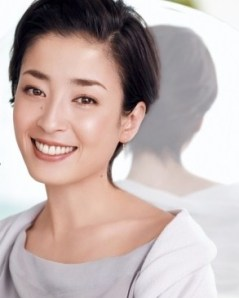 Rye Miyazawa para la campaña publicitaria de Shiseido Aqualabel