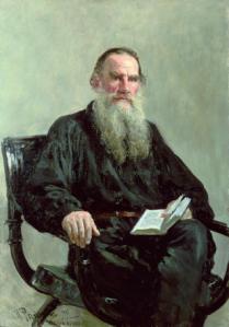 León Tolstoi por Iliá Repin