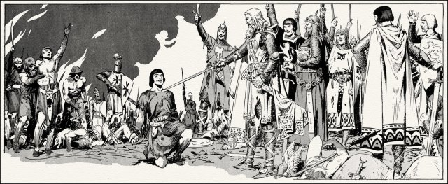 Hal Foster. Prince Valiant