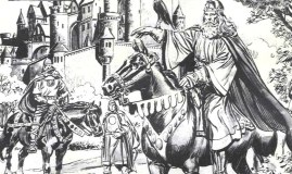 Ilustración de En busca del rey