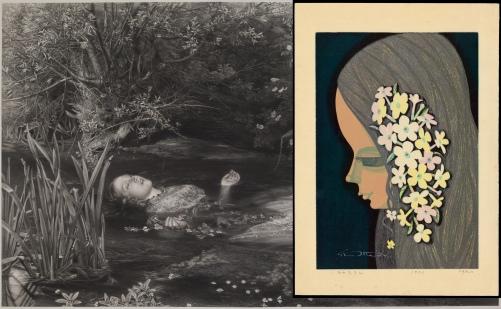 John Everett Millais: Ophelia.