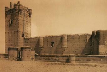 Castillo de la Mota Medina del Campo 1854