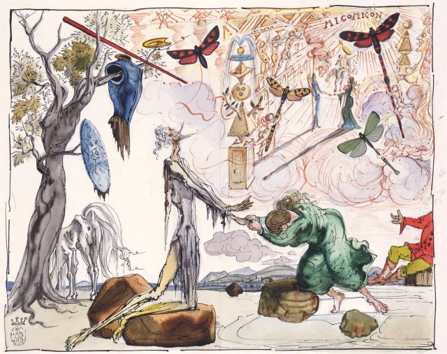 Don_Quijote_Dalí