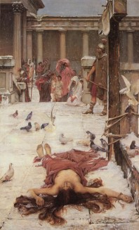John_William_Waterhouse_-_Saint_Eulalia_-_1885