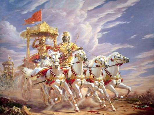 El-carro-de-arjuna-en-la-bhagavad-gita