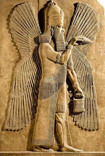 Genio-alado-protector-de-la-mitologia-asiria