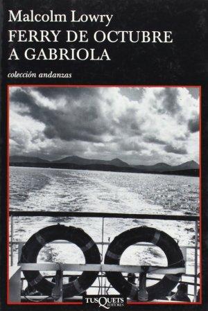 Portada libro Ferry de Octubre a Gabriola