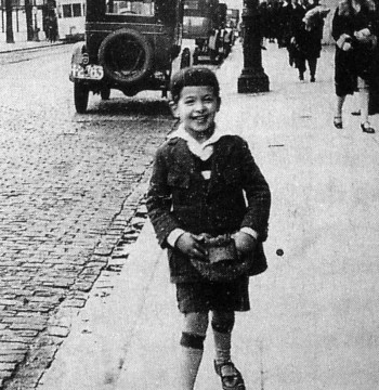 Álvaro Mutis (infancia)