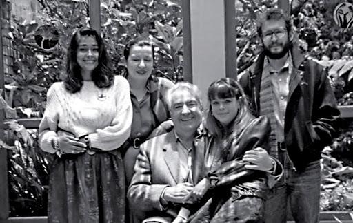 Familia Álvaro Mutis